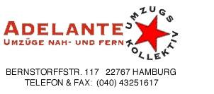 Bild: Adelante GmbH Umzugskollektiv       in Hamburg