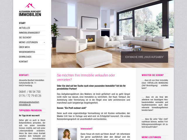 Alexandra Borchert Immobilien in Homburg, Saar » 5 Bewertungen ...