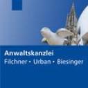 Logo Anwaltskanzlei Filchner - Urban - Biesinger