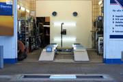 Bremsenprüfstand und Servicehalle! Modernste technische Ausstattung!