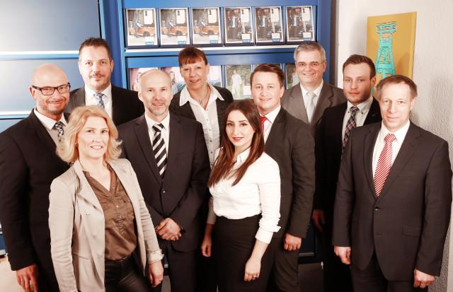 Team der Allianz Bochum Marcus Sill e.K.