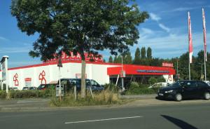 Bauhaus in Dortmund Aplerbeck