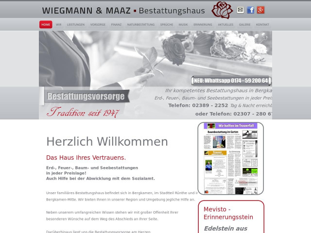 http://www.bestattungshaus-maaz.de