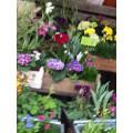 Blattgold Blumen und Wohnen