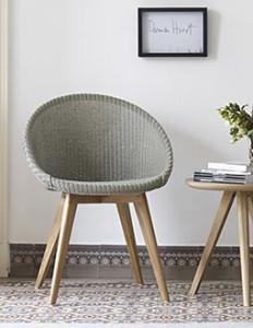 Lloyd Loom Stühle in neuem Design-Look