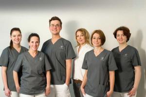 Praxisteam von Zahnmedizin Blume in Mainz