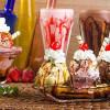 Bild: Blumen und Eiscafe