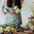 Bild: Blumenwerkstatt im Hof I.Hemmert in Iserlohn