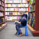 Bild: Bücherwurm in Krefeld