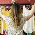 Checkout Outlet Store Einzelhandel für Textilien