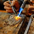 Collier Gold- und Silberschmuck