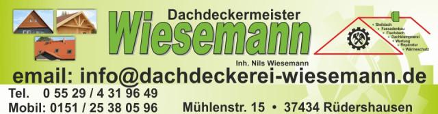 Bild: Dachdeckermeister Wiesemann in Rüdershausen, Eichsfeld