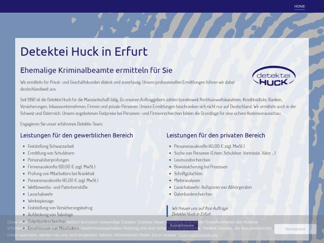 http://www.detektei-huck.de