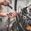 Die Fahrrad Profis Frank Klein
