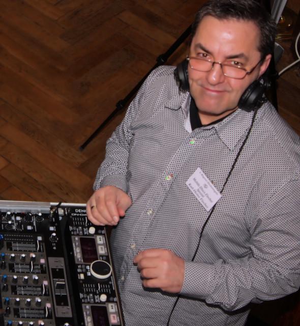 DJ Fischer Spezial auf einer Hochzeitsgala auf der Insel Rügen