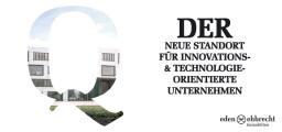 Q // Modernste Gewerbeflächen im Technologiepark Oldenburg