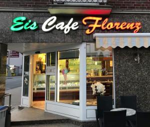 Eiscafe Florenz Duisburg.