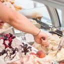 Bild: Eiscafe Rimini Im famila Einkaufsland in Oldenburg, Oldenburg