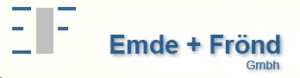 Logo EMDE+FRÖND GmbH Klima- und Kältetechnik