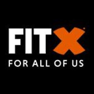 Logo FitX Fitnessstudio Oberhausen