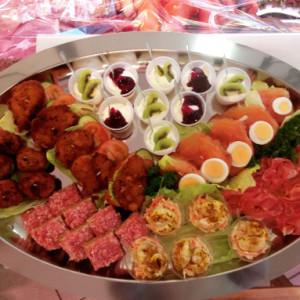 Snacks und Speisen