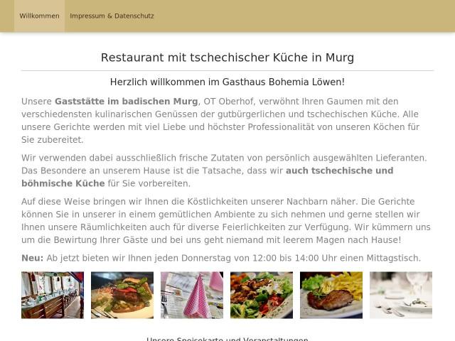 http://www.gaststaette-bohemia-loewen.de/