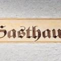 Bild: Gasthaus Goldener Hecht in Heidelberg, Neckar