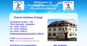 Logo Gasthaus Pension Erzkopf
