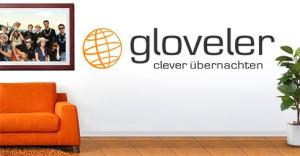 Logo gloveler GmbH Privatzimmervermittlung