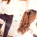 Bild: Hairoyal Friseur Haarverlängerung in Dresden