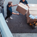 Heißer Reifen Kurier und Postdienstleistung