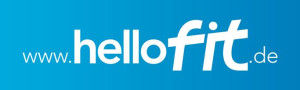 Logo hello fit Fitnessstudio Augsburg Mitte
