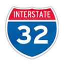 Bild: Interstate 32 in Aachen