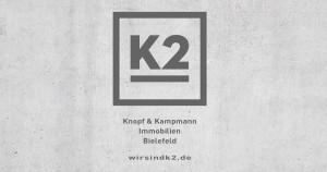 Logo K2 Knopf & Kampmann Immobilien GmbH