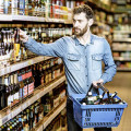 Kick in Getränkefachmarkt