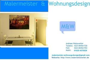 Logo MalermeisterWohnungsdesign Andreas Weissweiler