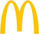 Logo McDonald's Restaurant Satellite im WAL-MART-CENTER