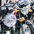 Motorrad Schlupp