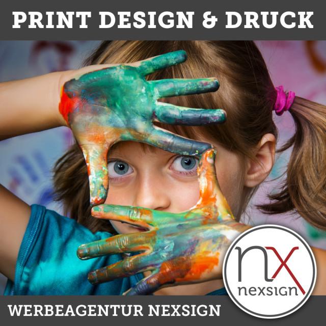 Design & Druck von Broschüren, Flyer, Visitenkarten, Speisekarten u.v.m.