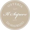 Logo Osteria - Il Sapore - da Maurizio