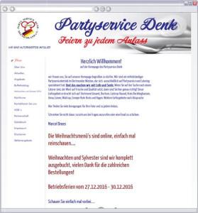 Logo Partyservice Denk