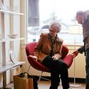 Bild: Pauline Bouteleux und Jan Havermann -Salon Wechsel Dich- in Hamburg