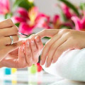Pink Rose Nail