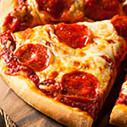 Bild: Pizza-Imbiss, An Der Stadtgrenze in Fürth, Bayern