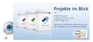 Logo PLANTA Projektmanagement- Systeme GmbH