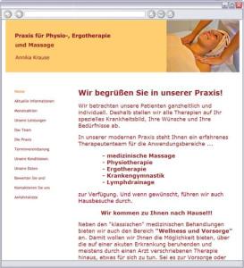 Logo Praxis für Physio- und Ergotherapie, Krause Annika