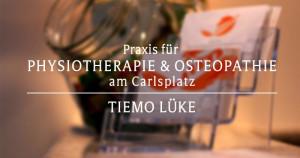 Logo Praxis für Physiotherapie am Carlsplatz Tiemo Lüke