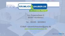 Bild: RÄUMLICHSAUBER.de - die Hygiene Profis in Hünfelden