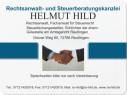Bild: Rechtsanwalt- und Steuerberatungskanzlei Helmut Hild in Reutlingen