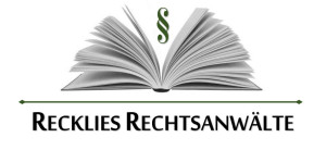 Logo Recklies Rechtsanwälte
